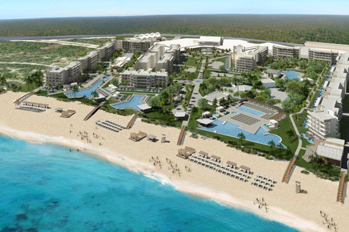 Planet Hollywood Beach Resort Cancun main exterior